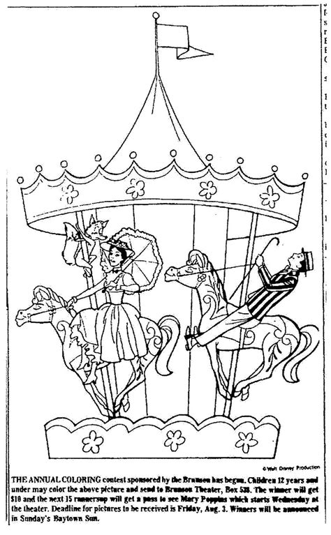 Mary Poppins Coloring Pages To Download And Print For Free Poppins Coloring Pages