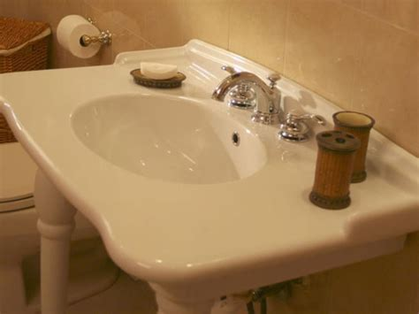 changing a bathroom faucet how to replace a leaky bathroom faucet hgtv