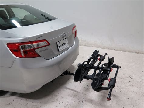 2011 toyota matrix yakima holdup 2 bike rack for 1 1 4