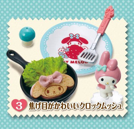 My Melody Floral Re Ment Box No 5 my melody re ment miniature blind box hospitality kitchen