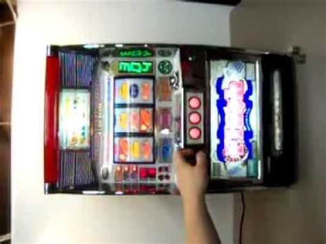 vintage japanese pachislo skill slot machine youtube