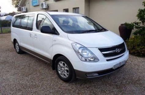 hyundai h1 9 seater minibus hire sandton car rental