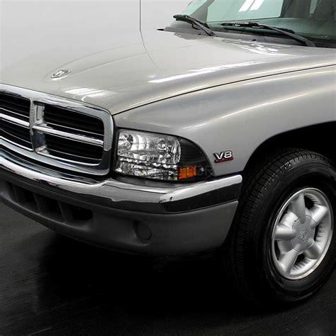 2003 dodge dakota headlights 97 04 dodge dakota led headlights black
