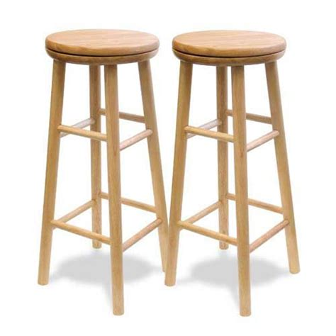 30 inch swivel bar stool set of two winsome wood bar