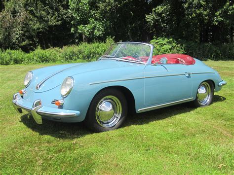 Porsche Roadster 356 by Fs 1960 Porsche 356 Roadster With Porsche Certificate Of