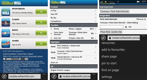 william hill mobile betting app william hill app android betting on apps