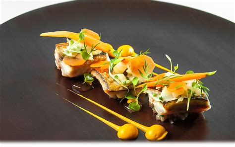 Recevoir De Plat by Photo Of Pied 224 Terre Michelin Restaurant