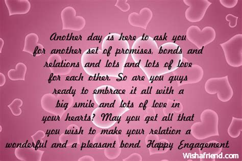 Engagement Wishes For A Friend Quotes
