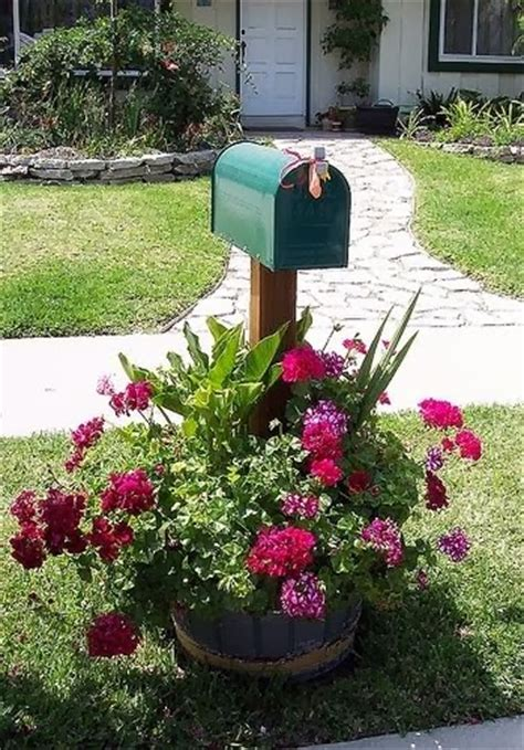 Mailbox Garden Ideas Real Estate In Don Callahan Four