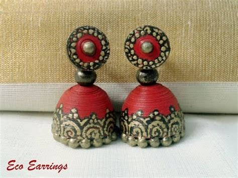 paper quilling jhumkas malayalam tutorial part 2 paper quilling jhumkas malayalam tutorial part 1 doovi