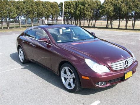 2007 Mercedes Cls550 by Purchase Used 2007 Mercedes Cls550 55k Mi Barolo