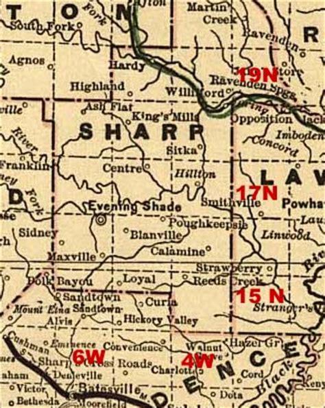 Arkansas Records Sharp County Arkansas Genealogy Census Vital Records