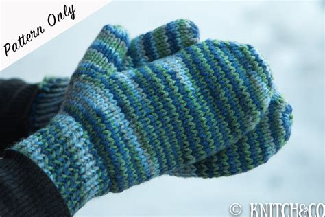 loom knit mittens knitting patterns mittens crochet and knit