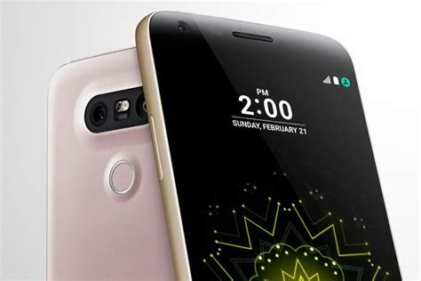 Lg G5 4gb Pre 0rder New lg g5 launch live is this unique new smartphone bonkers or