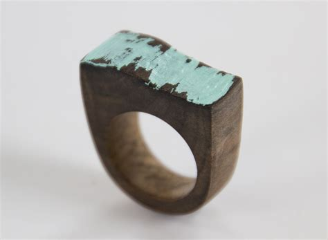 Unique Handmade Rings - unique handmade driftwood ring felt