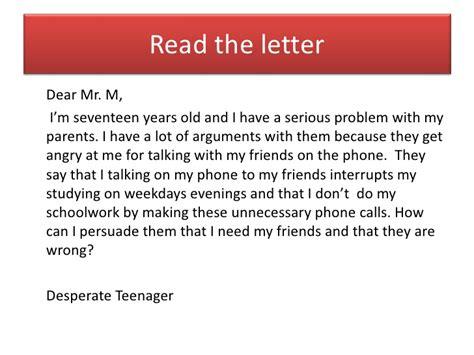 advice letter how do i write a letter of advice