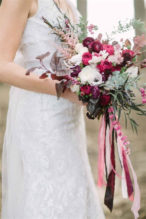 Wedding Bouquet With Ribbon by Wedding Wednesday On Trend Bridal Bouquets With