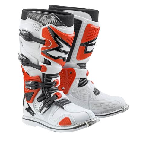 hinged motocross boots motocross boots axo a2 white red insportline