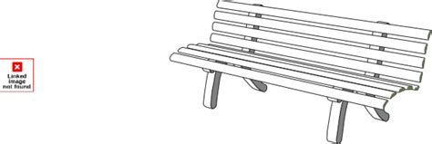 bench outline bench g aoi clip art at clker com vector clip art online