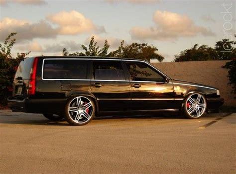 black volvo     rims dream wheels volvo pinterest bilar