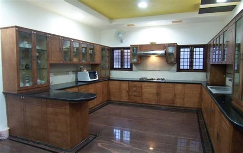 Kitchen Interior by Modular Kitchen Interiors Vellore Builders Vellore