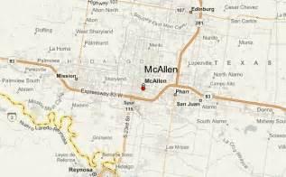 mcallen map mcallen location guide