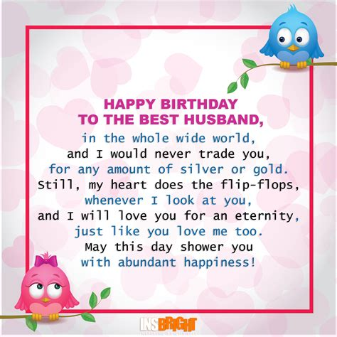 a poem for my husband happy birthday poems for husband from
