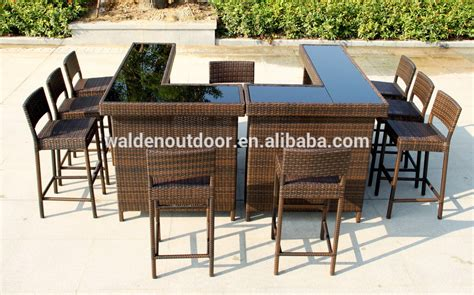 Buy Outdoor Bar Stools by Home Bar Furniture Outdoor Bar Table Seaside Wicker