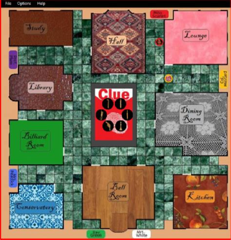 how many rooms in cluedo the of clue c 2010 codeproject