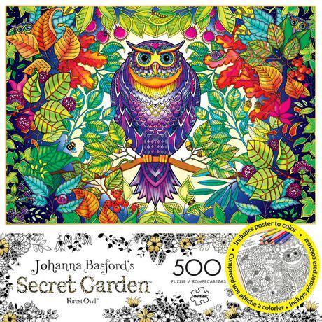 secret garden colouring book canada buffalo johanna basford s secret garden forest owl