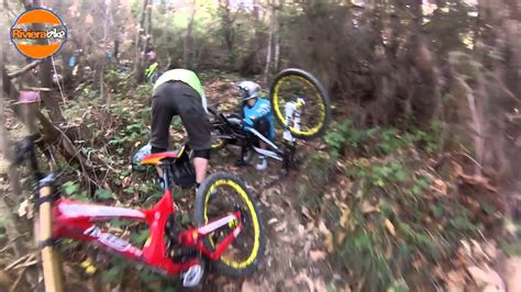 winter enduro and dh in san remo with rivierabike
