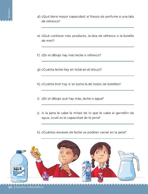 libro de matemticas 5 grado con todas las respuestas litros y mililitros bloque i lecci 243 n 12 apoyo primaria