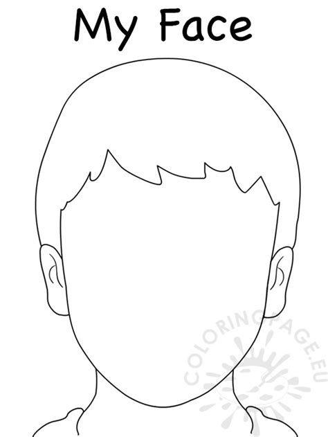 boy head coloring page 94 boy head coloring page smiley face coloring