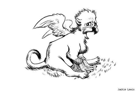 baby griffin coloring page sad baby griffin coloring page stuff pinterest
