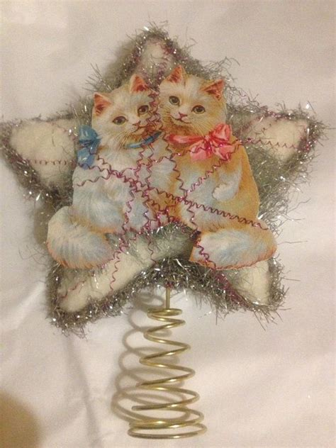 1000 images about cat christmas tree topper on pinterest