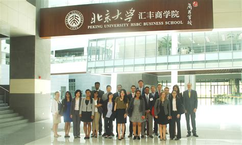 Hsbc Mba Careers by Temple At Phbs News Peking Hsbc