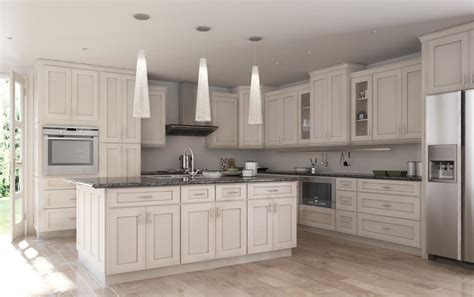 off white cabinets with brown glaze society shaker white with brushed chocolate glaze the