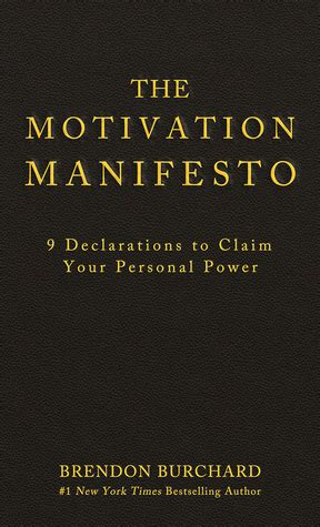 Motivation Series3 Paket 3 Ebook the motivation manifesto by brendon burchard reviews discussion bookclubs lists