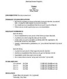 How Do I Write An Objective For A Resume by How To Do A Resume 2 Resume Cv