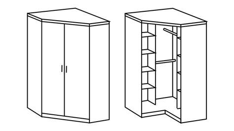 schlafzimmer eckschrank eckschrank clack kleiderschrank in wei 223 mit hochglanz front
