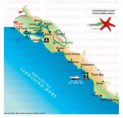 montenegro maps visit montenegro