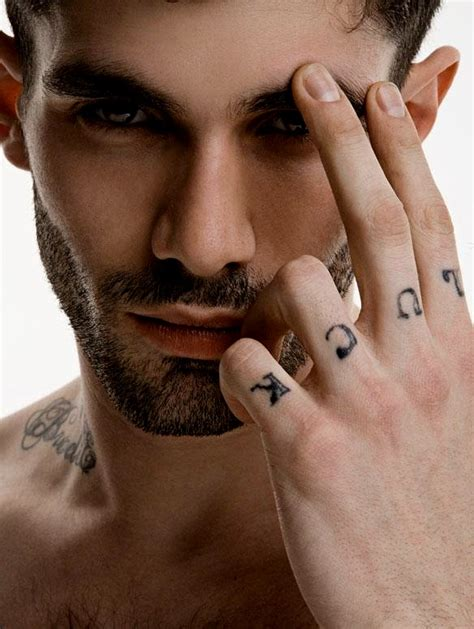 tattooed male models models with tattoos