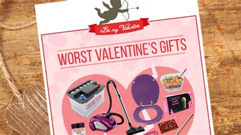 st valentine s survey results worst gifts