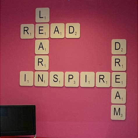 big scrabble letters scrabble wall letter by copperdot