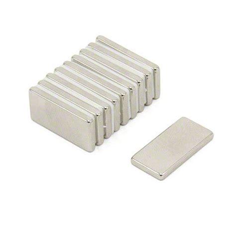 Magnet Neodymium Diameter 1 2cm Ketebalan 2mm 20 x 10 x 2mm thick n42 neodymium magnet 2 1kg pull