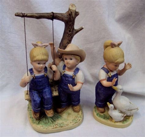 home interior denim days figurines denim days lot shop collectibles online daily