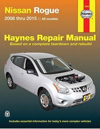 hayes auto repair manual 2008 nissan versa head up display 2008 2015 nissan rogue haynes repair service workshop manual