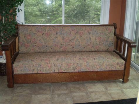 arts and crafts couch craftsman arts and crafts sleeper sofa