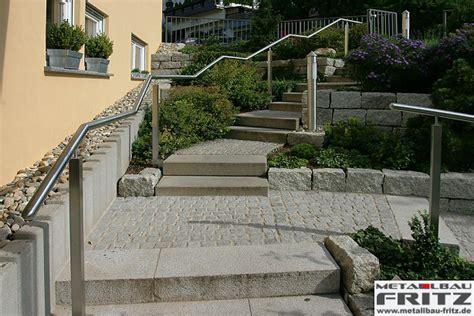 edelstahlgeländer treppe außen pin edelstahl treppengel 195 194 164 nder au 195 194 en edelstahl