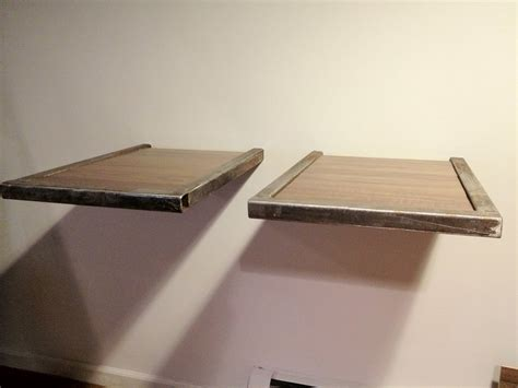 Floating record player or turntable mounts platforms in dj format by meanjgreen lumberjocks